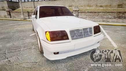 Mercedes-Benz E500 1998 Tuned Wheel White for GTA 4