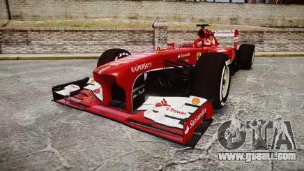 Ferrari F138 v2.0 [RIV] Massa TMD for GTA 4