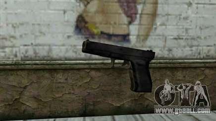 Glock from Beta Version for GTA San Andreas