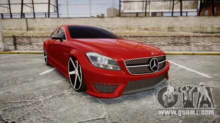 Mercedes-Benz CLS 63 AMG Vossen for GTA 4
