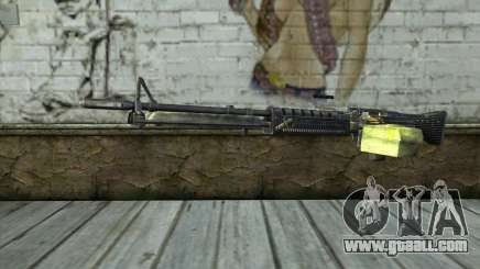 M60 from Battlefield: Vietnam for GTA San Andreas