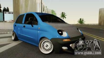 Daewoo Matiz Tuned for GTA San Andreas