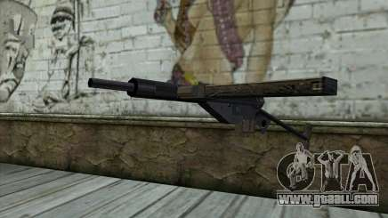 Sten from Day of Defeat for GTA San Andreas
