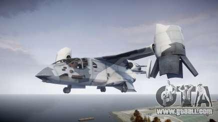 VTOL Warship PJ3 for GTA 4