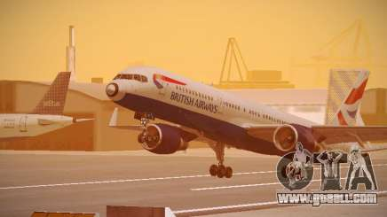 Boeing 757-236 British Airways for GTA San Andreas
