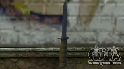 Combat knife (DayZ Standalone) v1 for GTA San Andreas
