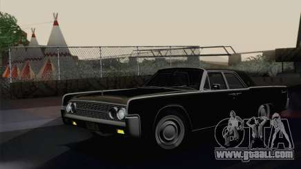Lincoln Continental Sedan (53А) 1962 for GTA San Andreas