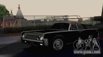 Lincoln Continental Sedan (53А) 1962 for GTA San Andreas