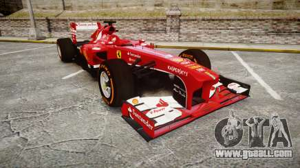 Ferrari F138 v2.0 [RIV] Alonso THD for GTA 4