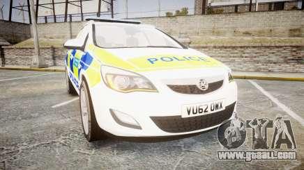 Vauxhall Astra Estate Metropolitan Police [ELS] for GTA 4