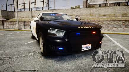 GTA V Bravado Buffalo LS Sheriff Black [ELS] Sli for GTA 4