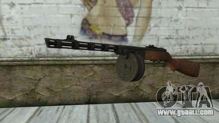 PPSH-41 v1 for GTA San Andreas