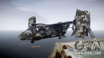 VTOL Warship PJ2 for GTA 4