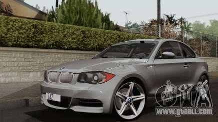 BMW 135i 2009 for GTA San Andreas