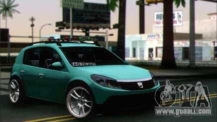 Dacia Sandero XIC for GTA San Andreas