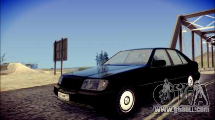 Mercedes-Benz W140 седан for GTA San Andreas