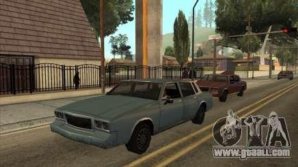Tahoma Restyle for GTA San Andreas