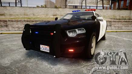 GTA V Bravado Buffalo LS Police [ELS] for GTA 4