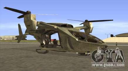 HELO4 Future Hunter for GTA San Andreas