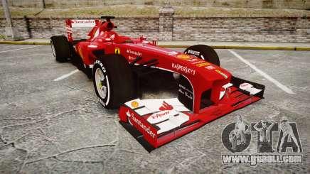 Ferrari F138 v2.0 [RIV] Alonso TMD for GTA 4