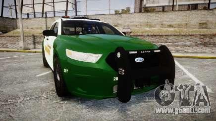 Ford Taurus 2014 Liberty City Sheriff [ELS] for GTA 4