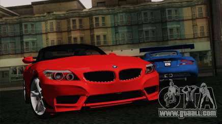 BMW Z4 sDrive28i 2012 Racing for GTA San Andreas