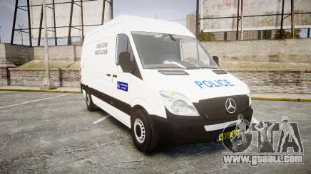 Mercedes-Benz Sprinter 311 cdi London Police for GTA 4