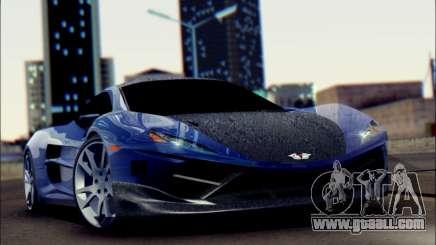 Shimmy Python 2012 for GTA San Andreas