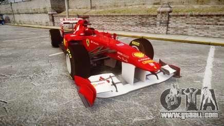 Ferrari 150 Italia Alonso for GTA 4