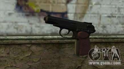 The Makarov Pistol for GTA San Andreas