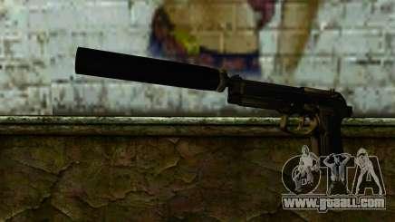 Beretta M9 Silenced for GTA San Andreas