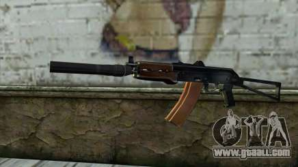 AKS-74U with PBS-5 for GTA San Andreas