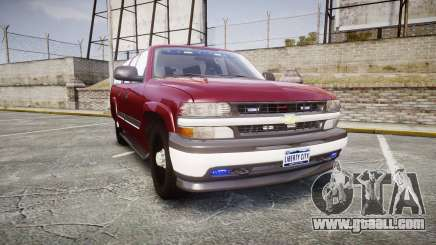 Chevrolet Suburban Undercover 2003 Black Rims for GTA 4