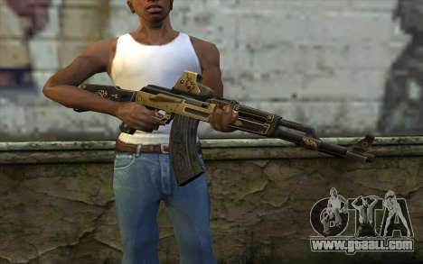 AK47 from PointBlank v2 for GTA San Andreas third screenshot