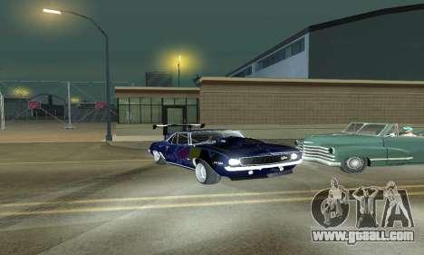 Chevrolet Camaro SS RedBull for GTA San Andreas