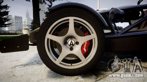Ariel Atom V8 2010 [RIV] v1.1 FOUR C Motorsport for GTA 4 back view