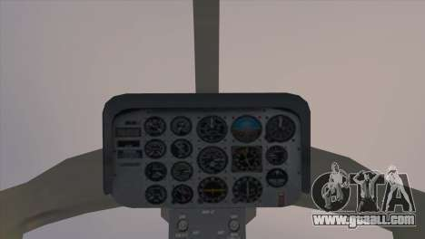 Bell 407 for GTA San Andreas back left view