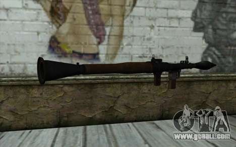 New Rocket Launcher for GTA San Andreas second screenshot