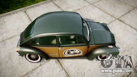 Volkswagen Beetle for GTA 4 right view