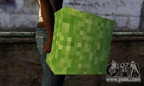 Block (Minecraft) v5 for GTA San Andreas third screenshot