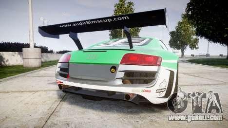 Audi R8 LMS Castrol EDGE for GTA 4 back left view