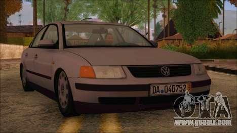 Volkswagen Passat for GTA San Andreas