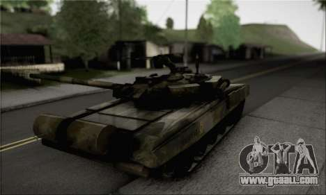 PT-91M Pendekar Tank for GTA San Andreas left view