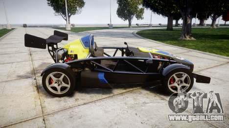 Ariel Atom V8 2010 [RIV] v1.1 Petrolos for GTA 4 left view