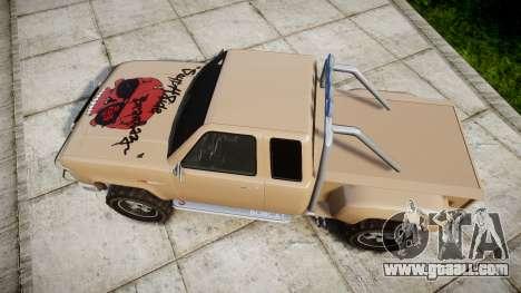 Vapid Bobcat Desert for GTA 4 right view