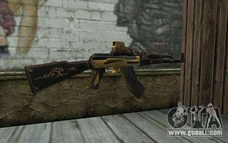 AK47 from PointBlank v2 for GTA San Andreas second screenshot
