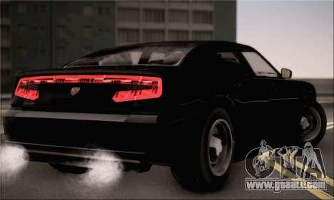 Bravado Buffalo S FIB for GTA San Andreas left view