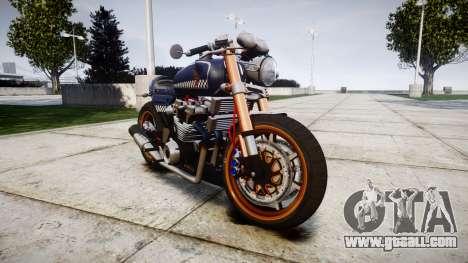 Honda CB750 cafe racer for GTA 4