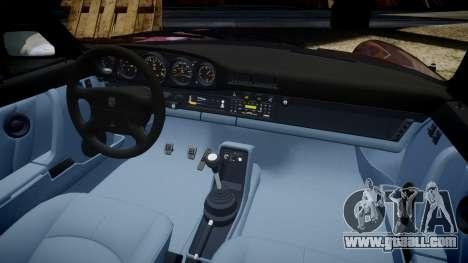 Porsche 911 (964) Targa for GTA 4 inner view
