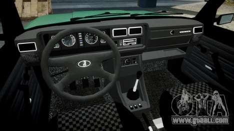 VAZ-2107 lower for GTA 4 back view